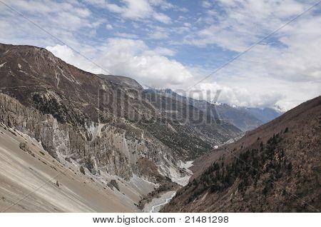Way to Tilicho Lake (4,949 m), Nepal
