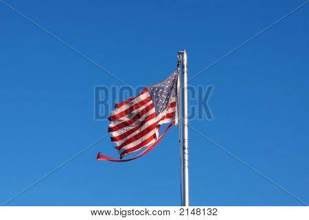 Beat Up Flag