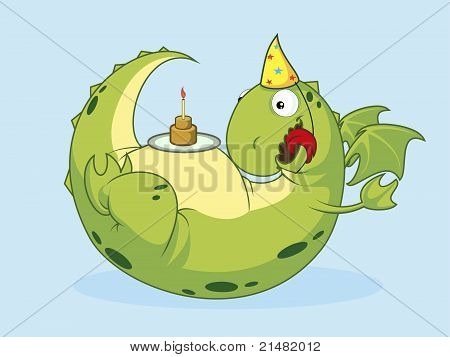 Birthday of a dragon.
