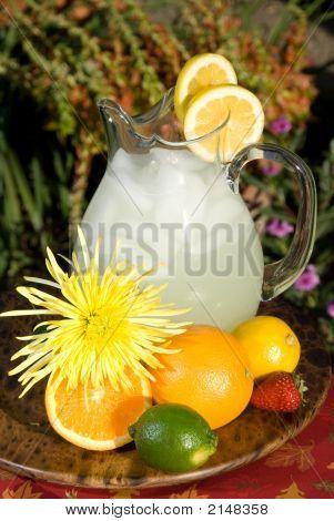 lebendige Limonade