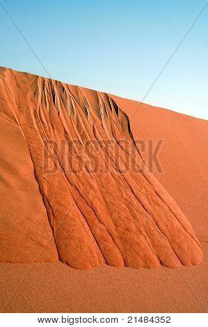 Dune slip face near Swaihan