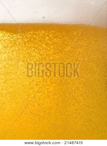 Mug Of Beer, As Abstract Background
