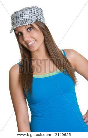 Smiling Hat Girl