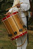 Colonial Drummer--Revolutionary War Reenactment