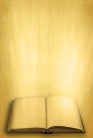 pic of holy-spirit  - open holy book against retro background  - JPG