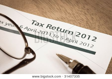 Tax Return 2012