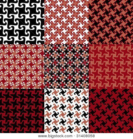 Swirly Patterns_Red-Black