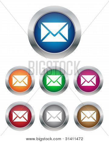Botones de correo electrónico