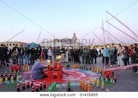 game at jemaa el fna