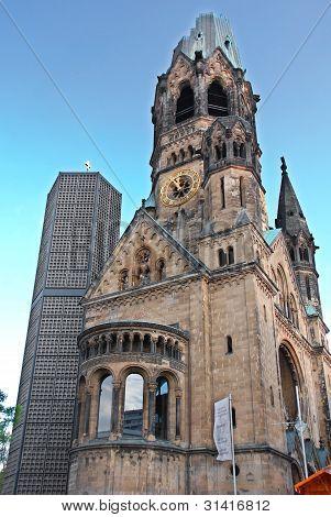 The Kaiser-Wilhelm-Gedechtniskirche