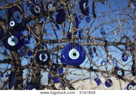 293 Evil-Eye Pendant Tree In Turkey