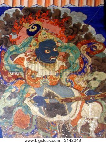 Buddhist Fresco