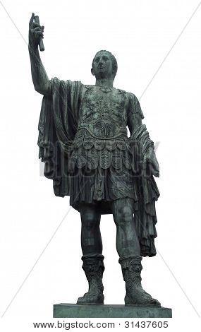 Estatua de César en Roma
