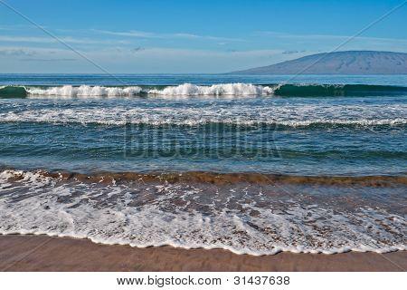 Beach, Ocean, And Waves