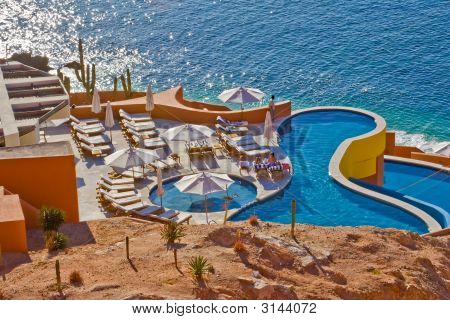 Swimming Pool At Los Cabos