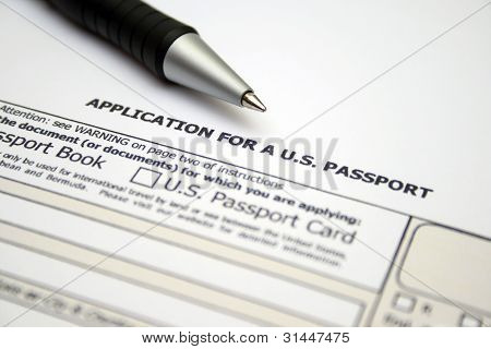 Application For Us Passport