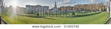Buckingham Palace At London, England