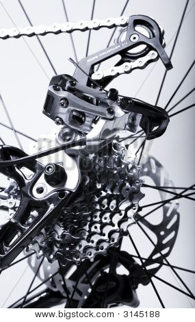 Bicycles Rear Gear Changing System