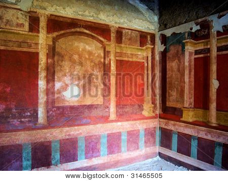 House of Augustus fresco