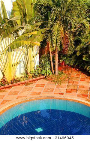 Swimming Pool Of The Luxury Resort