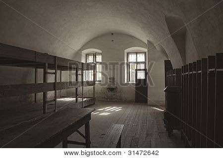 Barracks Room In Terezin