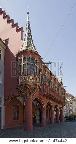 Historical Merchants Hall Of Freiburg Im Breisgau