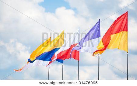 Triangular Flags