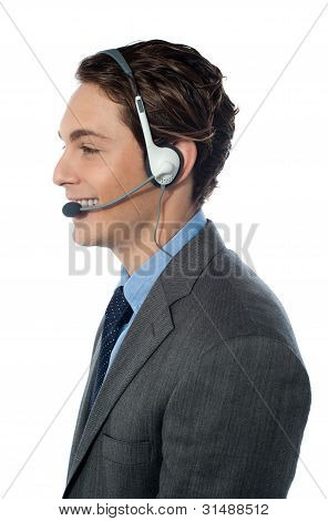 Operador de suporte ao cliente