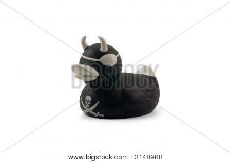 Black Rubber Duck