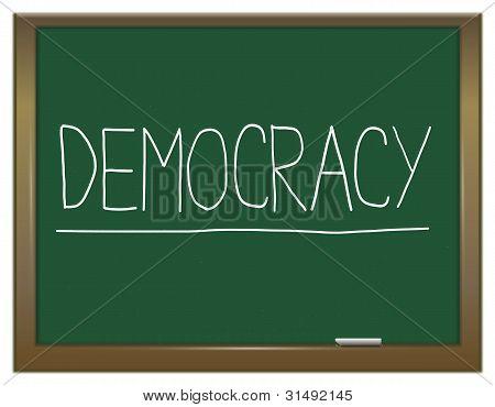Democracy Concept.