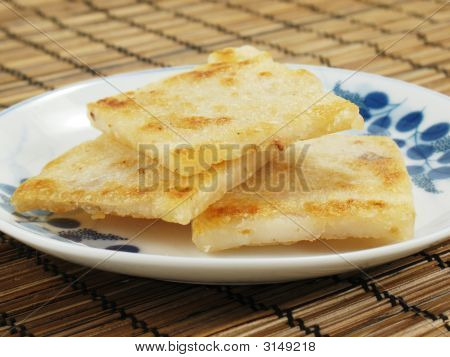Fried Taro Cakes