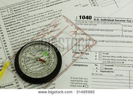 Tax Form 1040, Compass