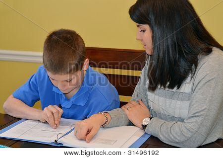 Tutoring Student