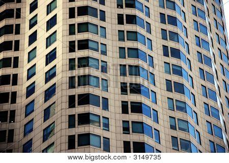 High Rise Or Skyscraper Windows