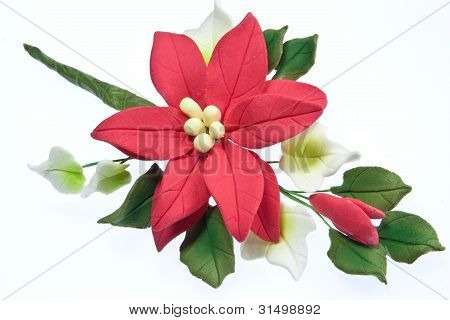 Sugarcraft Pointsettia