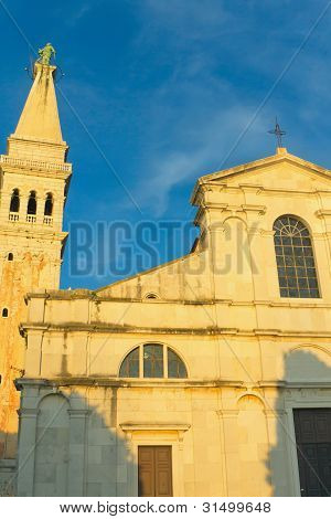 Church Of St. Euphemia In Rovinj ( Croatia)