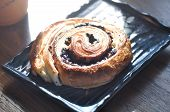 Danish, Danish Pastry Or Chocolate Danish For Serve poster