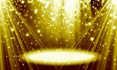 Abstract, Fine Art ,background, Birthday ,black ,spot ,bokeh, Bright ,bright Gold Background, Holida poster