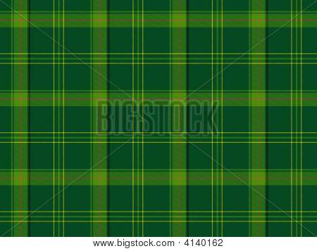 Green Scottish Tartan