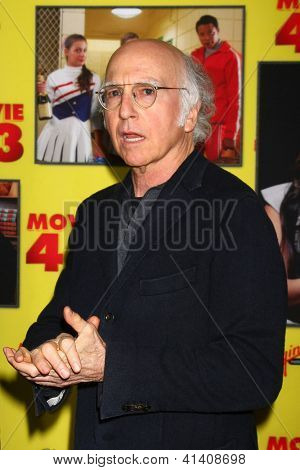 LOS ANGELES - JAN 23: Larry David at the