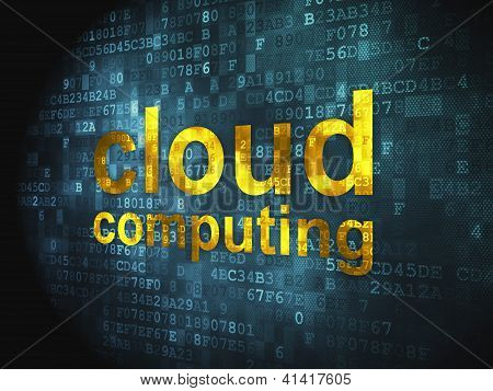 Cloud computing technology, networking concept: Cloud Computing