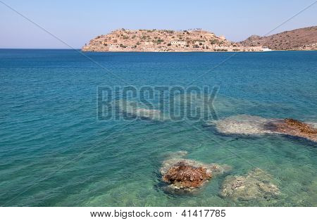 Spinalonga Island, A Venetian Fortress And Leper Colony(Crete, Greece)