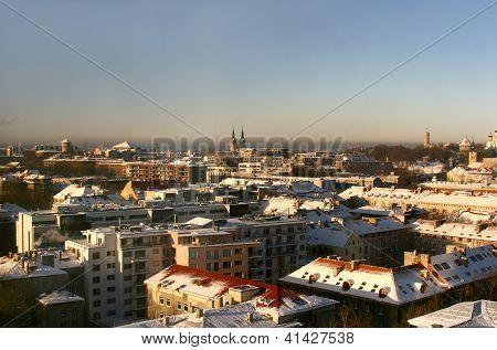 Modern Tallinn, Estonia