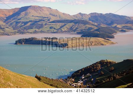 Lyttelton Harbor Hill View