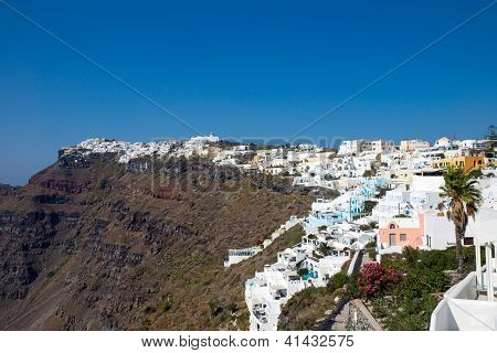 View of Imerovigli, Santorini
