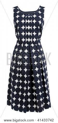 dress with polka dots