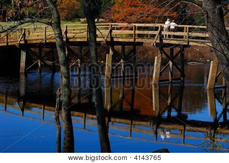 The North Bridge, Minute Man National Park, Concord, Ma