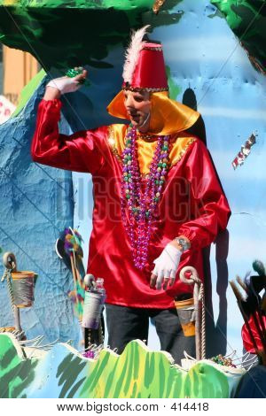 Karneval-Parade in New orleans