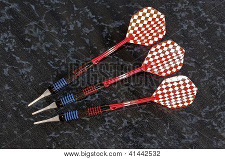 Soft tip darts.