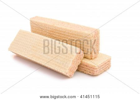 3 pcs wafer with clipping path